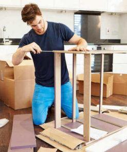 Samling af møbler