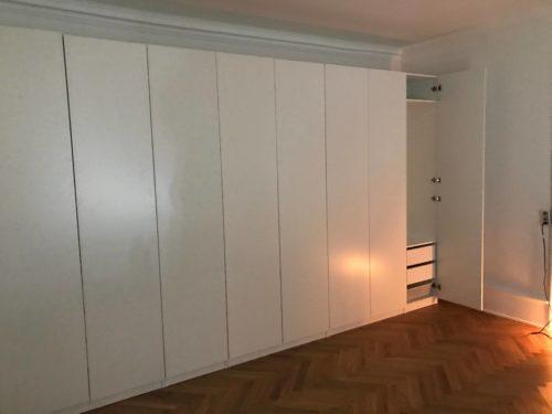 IKEA samle service - Pax skab 450x236cm 9 døre