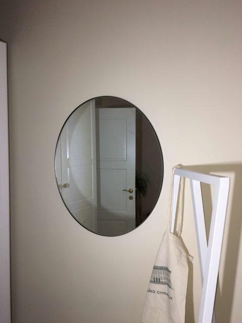 Montering vægophæng opsætning spejl