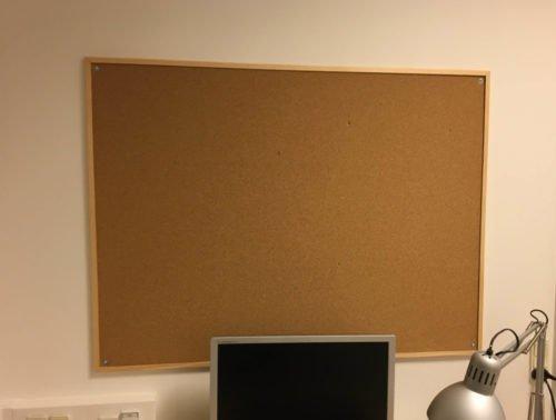 Væg montering ophæng opslagstavle