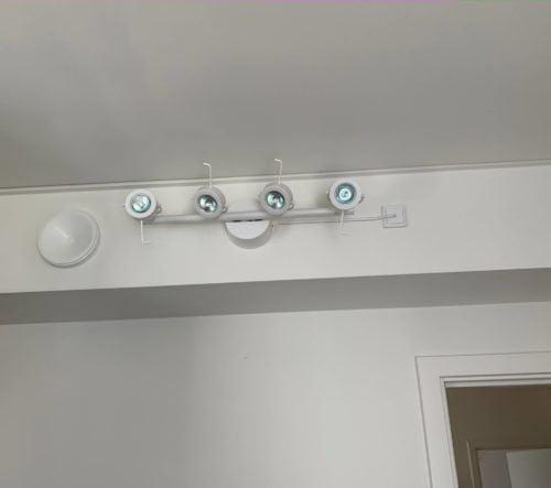 Montering & el-tilslutning af spotlampe