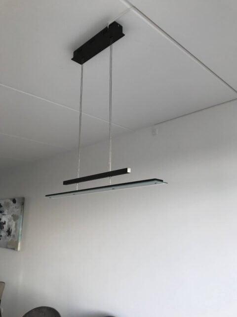 Montering LED lampe
