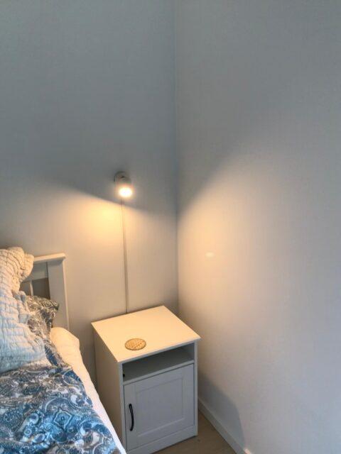 Montering & el-tilslutning væglamper