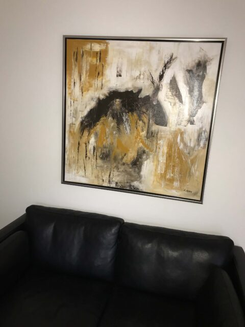 Væg ophæng maleri