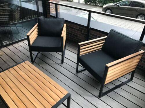 Montering af havemøbler stole