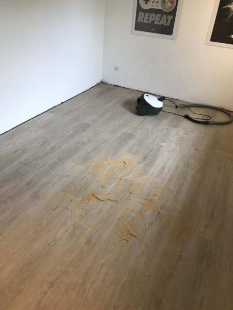 montering af laminat gulv