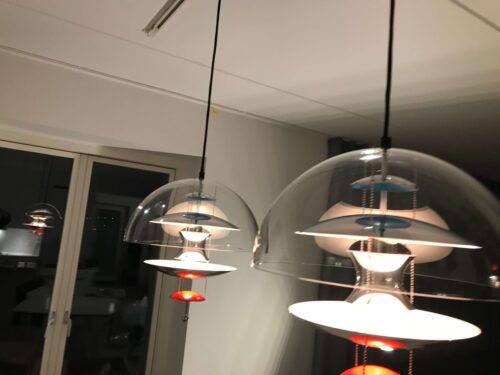 Montering tilslutning Verpan VP Globe lamper