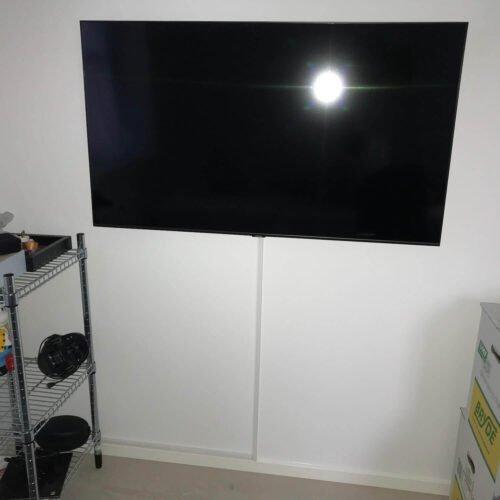 Vægmontering Samsung TV børneværelse